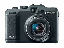 Canon PowerShot G15 12.1MP Digital Camera - Black 600 SHUTTER COUNT