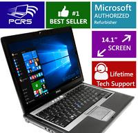 DELL Latitude Laptop Windows 10 Intel Core 2 Duo DVD WiFi Notebook HD Computer