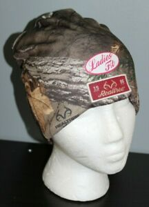 NEW Ladies Fit REALTREE Xtra Camo Beanie Hat Warm Hunting Womens