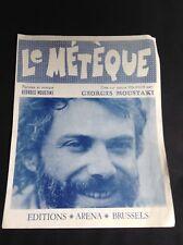 Partition - Georges Moustaki - Le Métèque - Arena - P1
