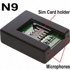 Spy N9 Remote Mobile GSM 2-Way Activated Call Ear Bug Listener Location Tracker