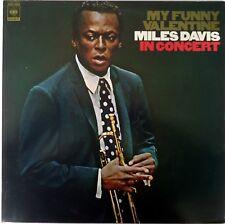 Miles Davis-My Funny Valentine-Miles Davis In Concert LP Japan CBS/Sony-25AP 760