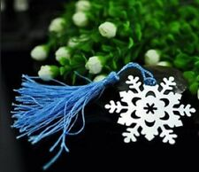 ♛ Shop8 : 1 pc SNOWFLAKES BOOKMARK GIVEAWAYS SOUVENIR Gift Ideas