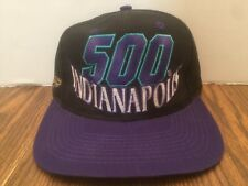 Rare Vintage Indianapolis 500 Indy 500 Logo 7 Snapback Hat Cap Never Worn