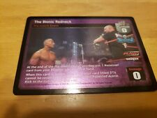 WWE Raw Deal CCG Stone Cold Steve Austin The Bionic Redneck !! FREE SHIPPING !!
