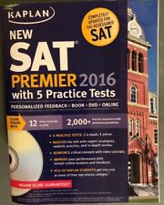 Kaplan New SAT Premier 2016 with 5 Practice Tests: Personalized Feedback + Book