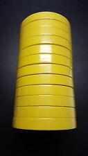 "1 Sleeve/12 Rolls - 3M™ - Yellow Masking Tape - 3/4"""