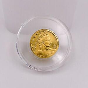 Lady Liberty 1/10th oz Gold Coin (Round)