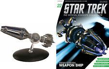 STAR TREK Official Starships Magazine #22 Krenim Temporal Weapon Eaglemoss