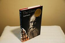 The Giver by Lois Lowry (SIGNED Hardcover HC/DJ Like New 1st/12th Newberry)