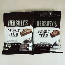 Sugar Free Hershey's Chocolates - Individually Wrapped - 2 Bags - 3oz each