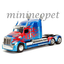 JADA 98403 TRANSFORMERS OPTIMUS PRIME WESTERN STAR 5700 XE PHANTOM 1/24 BLUE