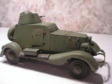 Modelik 23/08 - russ. véhicule Blindé ba-20m 1:25 avec Lasercut pièces