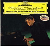 Brahms: Concerto For Piano N.1 / Emil Gilels, Jochum, Berliner LP DGG