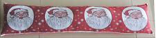 Kliving Santa Claus Christmas Tapestry Festive Draught Excluder 22cm x 90cm