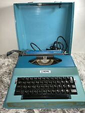 Vintage Litton Royal Apollo 10 GT MODEL SP8000 Electric Typewriter With Case Vtg