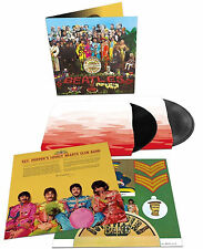 The Beatles LP x 2 Sgt Pepper's 50th ANNIVERSARY Vinyl Extended Sealed Spec Ed