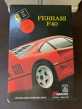 Pocher 1:8 Ferrari F40 Rot Cod. K55 Bausatz, KIT, MINT, RAR