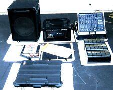 Pro.(Start-up Business)VocoPro Karaoke,Mixer,Amp,Cdg Player,Mic,88 Cd's/Bundle!