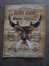 Oxford Stomp Concert w/Bryan Adams The Odds Amanda Marshall July 12/19 Flyer