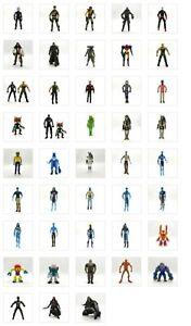 "1:18 - 3 3/4""  Action Figures Avatar GI Joe Joy Toy BFS VHACKs Hasbro - Choose"
