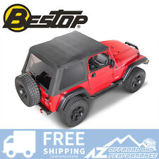 Bestop Trektop NX Soft Top - Black Diamond fits 1997-2006 Jeep Wrangler TJ