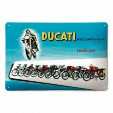 Genuine Ducati 3D Embossed Metal Wall Sign 2016 'Meccanica' For Man Cave REDUCED