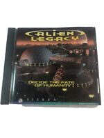 Alien Legacy CD-ROM Jewel Case PC Space Strategy Game Vintage Gaming Video VTG