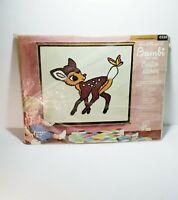 Walt Disney/'s Thumper Crewel Embroidery Kit Paragon 12/' x 16/' Vintage