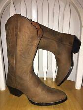 ~!~ New Ariat Western Boots Women's Nu-buck Suede Look Sz 7.5 ~!~