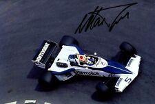 Nelson Piquet Brabham BT52 Monaco Grand Prix 1983 Signed Photograph
