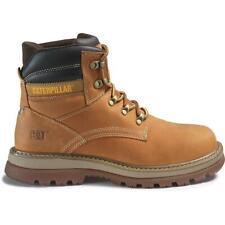 Cat Footwear Men's Fairbanks Soft Toe Work Boot Brown Oi water resistant EH