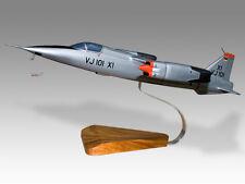 EWR VJ 101 German Kiln Dried Solid Mahogany Wood Desktop Airplane Model