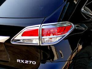 Tail Light Rear Lamp Bezel Cover Chrome Trim For Lexus RX350