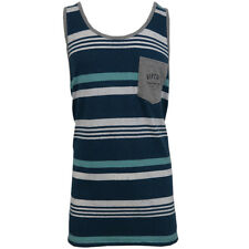 Rip Curl Men's Easy Rider Striped Sleeveless Tank Top (Retail $34.50)