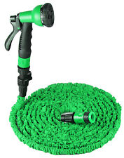 100FT - 25FT Expanding Flexible Expandable Garden Water Hose Pipe + Spray Nozzle