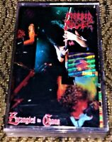 Morbid Angel – Entangled In Chaos. VG Cassette Tape Plays Well Rare Metal Mind
