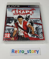 PS3 Escape Dead Island NEUF / NEW PAL