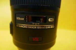 Nikon AF-S 105mm f2.8G VR IF-ED Micro