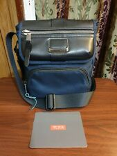Tumi Alpha Bravo Barton Crossbody Bag - Navy Blue - Minimalist EDC - $250 MSRP