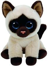 """TY Beanie Babies Jaden Siamese Cat 6"""" Stuffed Collectible Plush Toy NEW"""