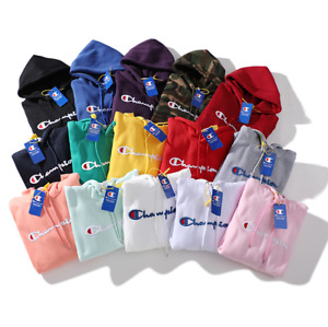2021 New Women's Men's Classic Champion Hoodies Hooded Sweatshirts