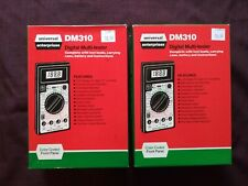 Uei Dm310 Two Of Them Multimeter Amp Transistor Testers They Work Perfect