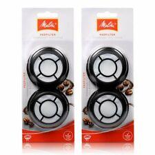 2 x Melitta permanent coffee filter / filter pad f Senseo aluminium version