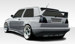 85-92 Volkswagen Golf 2DR R-1 Overstock Rear Wide Body Kit Bumper!!! 107688
