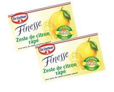 (8.33 Euro/100g) Dr. Oetker Finesse geriebene Zitronenschale 2x6g