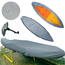 WATERPROOF UV PROTECTION KAYAK DUSTPROOF COVER FOR CANOE BOAT DINGHY ACCESSORIES