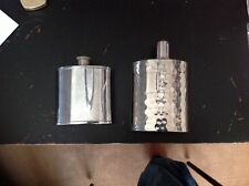 1 Set (2 Pcs.) Vintage Whiskey Flasks