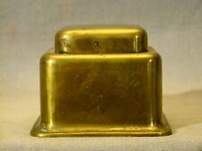 Signed Art Deco Kronheim & Oldenbusch Brass Hinged Inkwell 1895-1939