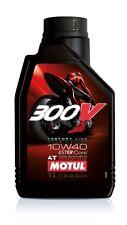 OLIO Motore Moto MOTUL 300V 4T Factory Line  10W40 - 1 Litro 100% SINTETICO